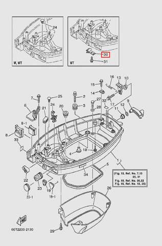 Держатель для лодочного мотора T40 Sea-PRO (13-30)