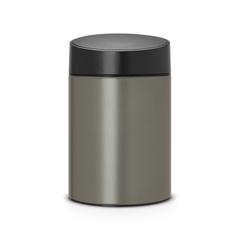 Мусорный бак Slide Bin (5 л), Платиновый
