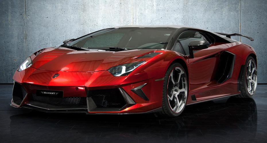 Обвес Mansory для Lamborghini Aventador