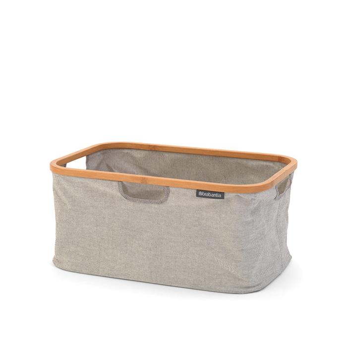 Складная корзина для белья (40 л), Серый, арт. 118180 - фото 1