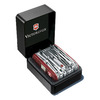 Нож Victorinox SwissChamp XAVT, 91 мм, 81 функция, красный (подар. упаковка)