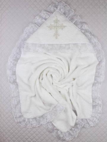 Крыжма для крещения махровая Ласковая молочная