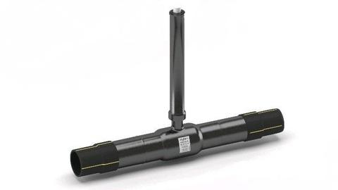 LD КШ.Ц.ПЭ.GAS.065.016.П/П.02.Н=1500мм с патрубками ПЭ-100 SDR 11 полный проход