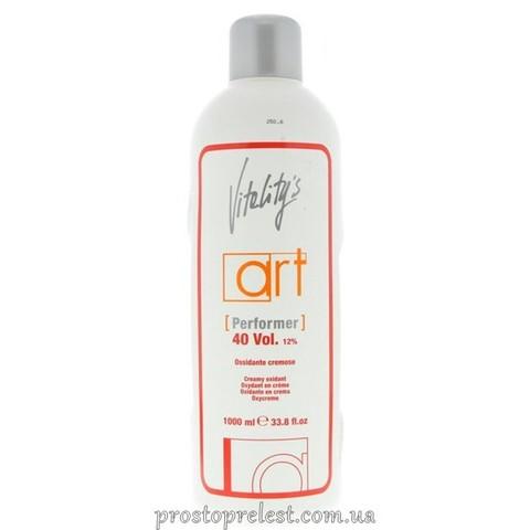 Vitality's Art Performer Creamy Oxidant 40 Vol - Кремоподібний оксидант 12%