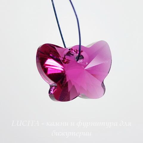 6754 Подвеска Сваровски Бабочка Fuchsia (18 мм) ()