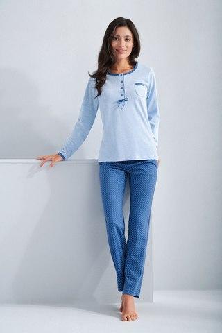 Пижама домашняя с брючками Luna 592