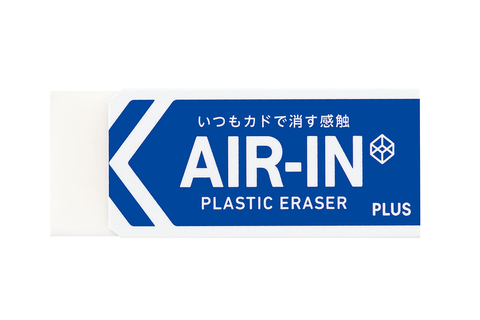 Ластик Plus Air-In - белый 43 г