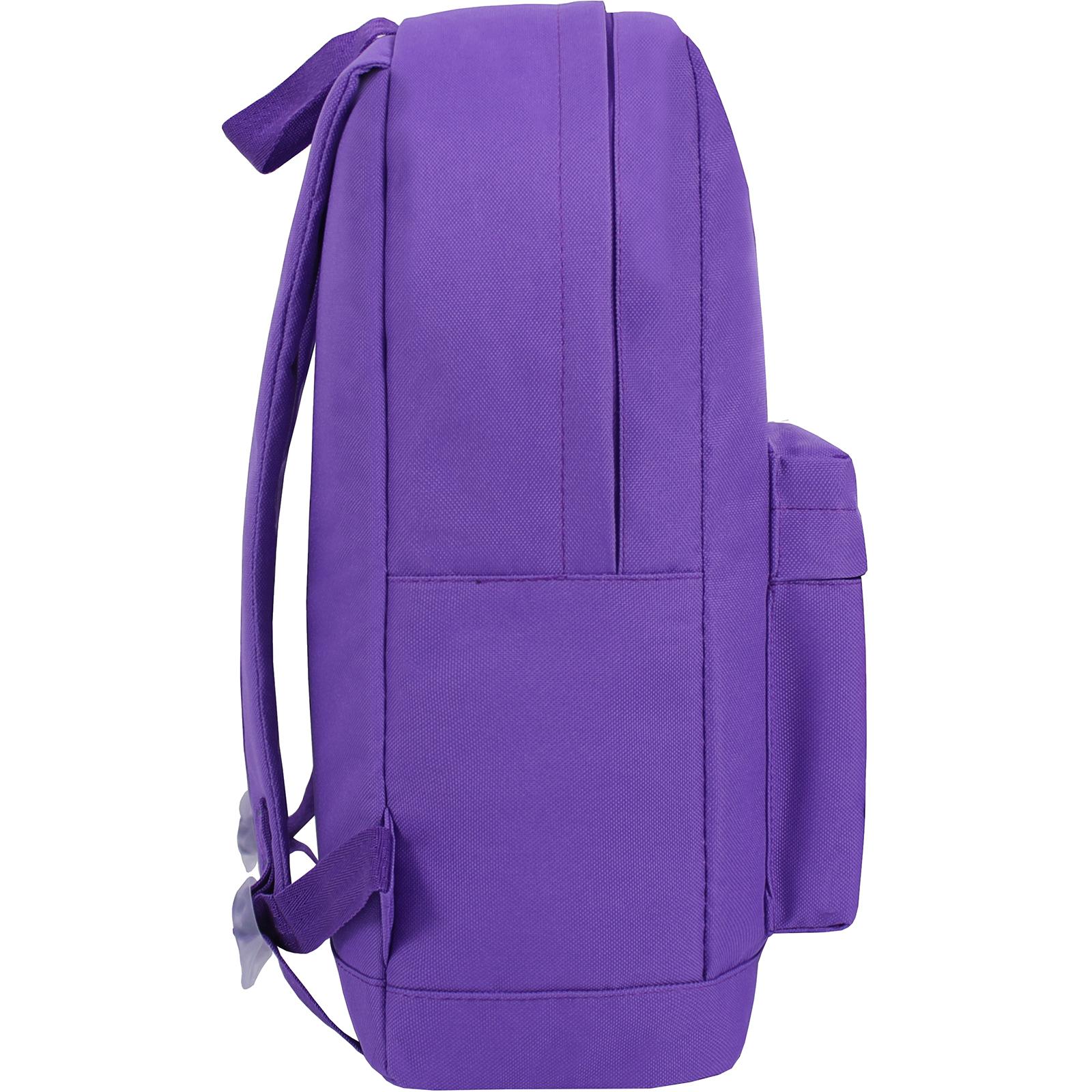 Рюкзак Bagland Молодежный W/R 17 л. фиолетовый 170 (00533662) фот 2