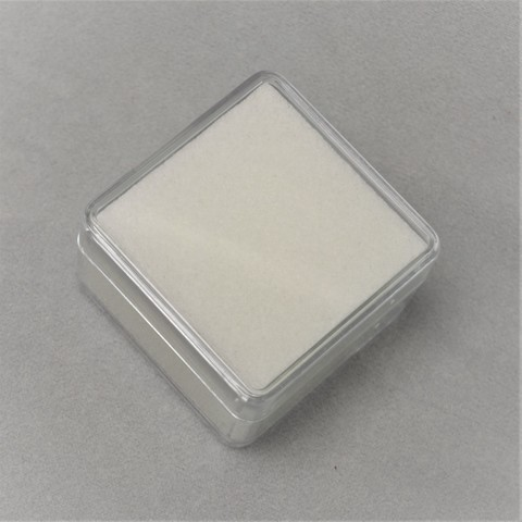 Коробка для драгоценных камней пластиковая 3.8х3.8х2.5см