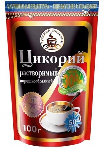 Цикорий Русск Цикор Натуральный дойпак ZIP 100 г