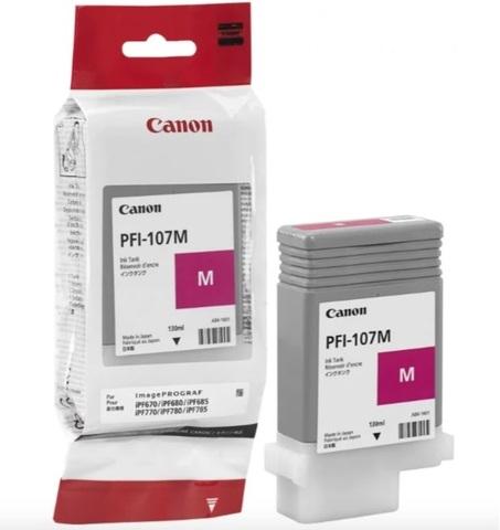 Картридж Canon PFI-107M 6707B001 пурпурный