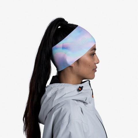 Теплая спортивная повязка на голову Buff Headband Tech Fleece Motley Multi фото 2
