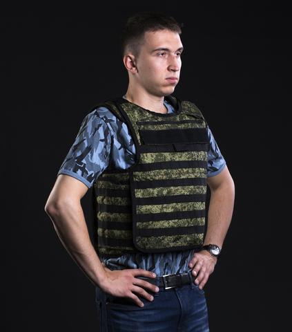 Бронежилет «Сапфир-2» мод. « БОЕЦ » (самосброс)