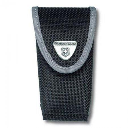 Нейлоновый чехол для ножей Victorinox 85 и 91 мм (4.0543.3) с дополнительным отделением, цвет чёрный | Wenger-Victorinox.Ru