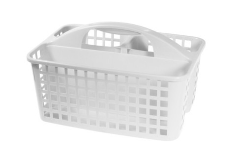Органайзер-переноска Idea 18,5x23x31см белый,пластик