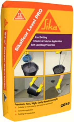 Sika Level Pro/Сика Левел Про Высокопрочный самовыравнивающийся наливной пол от 5 до 30 мм с быстрым набором прочности