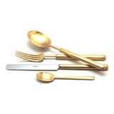 Набор матовый 24 пр BALI GOLD, артикул 9312, производитель - Cutipol