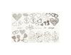 Фольга для дизайна ногтей цвет серебро 11 купить за 120руб