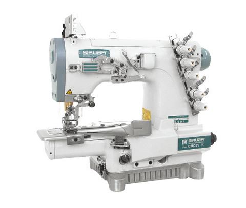 Трехигольная распошивальная швейная машина Siruba C007J-W222-364/CQ | Soliy.com.ua
