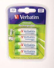 Аккумуляторы Verbatim R6 (2500mAh) 1x4 шт.