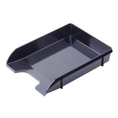 Лоток для бумаг горизонтальный Attache Loft HDF черный