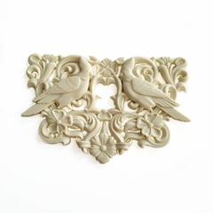 0862 Молд силиконовый. Орнамент Райские птички. (маленькие)