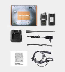 Портативная рация Baofeng UV-9R Plus IP67 8 Ватт с гарнитурой