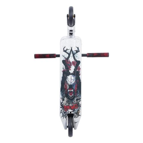 Трюковой самокат Triad Psychic Totem Stone silver 2021