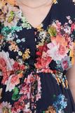 Платье для беременных 09575 синий