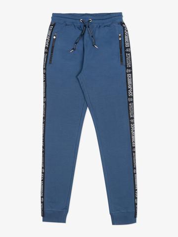 Спортивные штаны «Великоросс» цвета синего денима