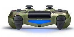 Беспроводной контроллер DualShock 4 для PS4 (камуфляж зеленый, 2ое поколение, CUH-ZCT2/E16R)