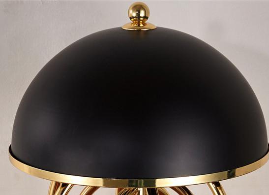 Напольный светильник копия Turner by Delightfull (черный)