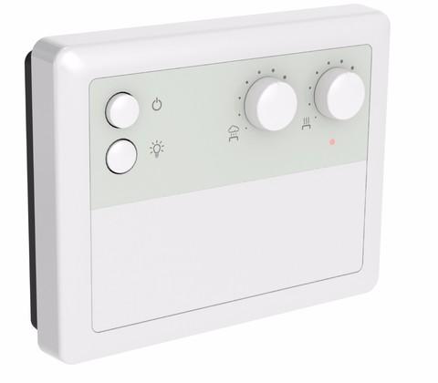 Блок управления Harvia CF9C Combi, для электрокаменок с парогенератором