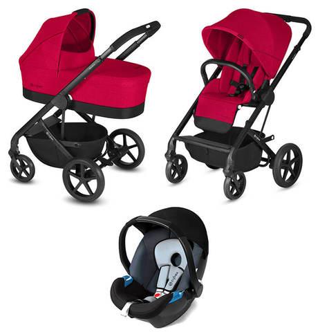 Детская коляска Cybex Balios S 3 в 1 Rebel Red