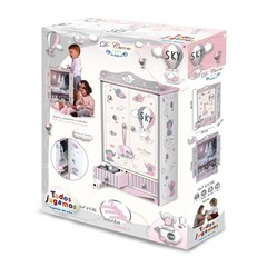 DeCuevas Гардеробный шкаф для куклы серии Скай 54 см (54035)