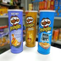 Чипсы Pringles Salt and Vinegar Принглс со вкусом соли и уксуса 158 гр