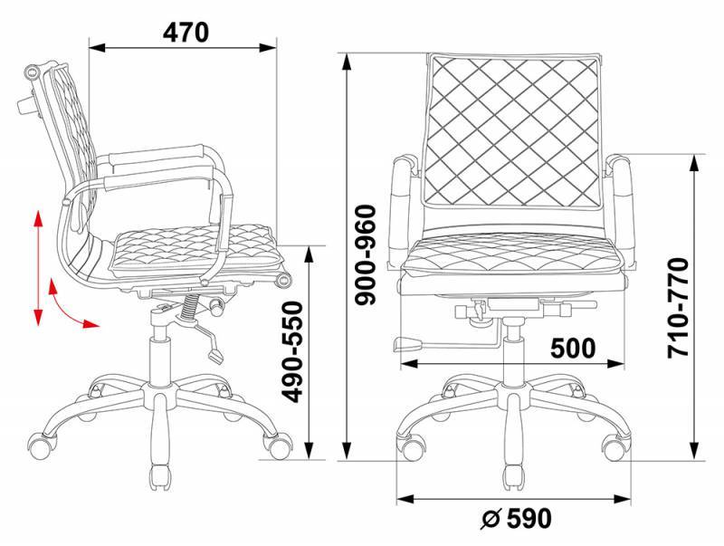 Кресло для руководителя  CH-991-LOW
