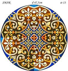 Эскиз для росписи, Круг диаметр-47,5см, SMAR-st-13
