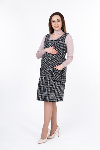 Сарафан для беременных 09927 шанель