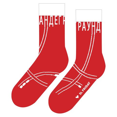 St.Friday Socks Спускаюсь в андеграунд