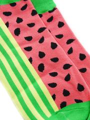 Короткие носки р.37-44 Арбуз