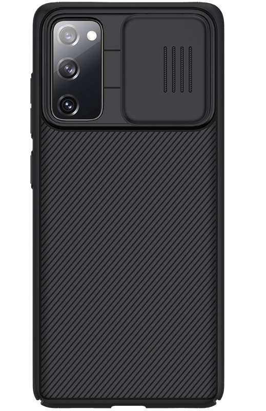 Чехол для смартфона Samsung Galaxy S20 FE от Nillkin серия CamShield Case с крышкой для защиты камеры