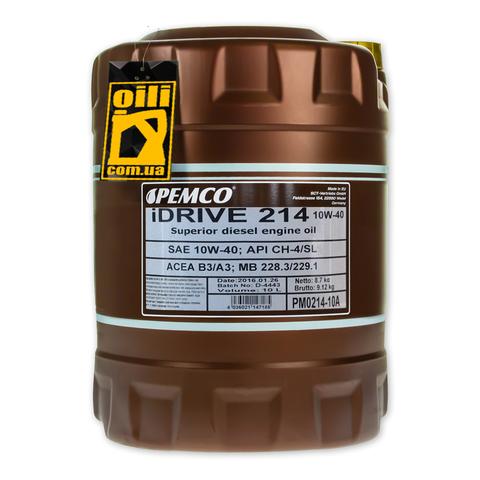 Pemco iDRIVE 214 10W-40 10L