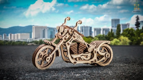 Мотоцикл Круизер (Cruiser) (EWA)