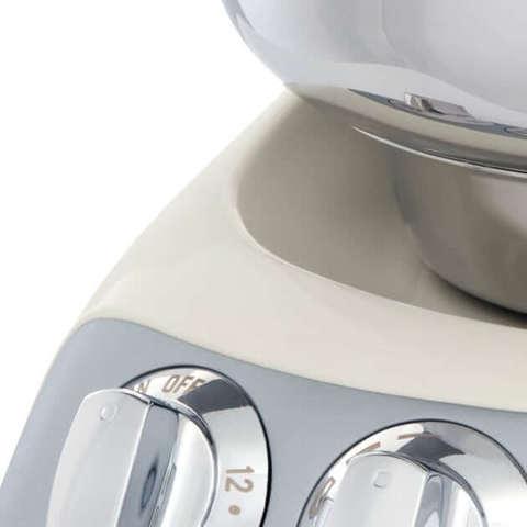 Тестомес для крутого теста-кухонный комбайн Ankarsrum Light Creme, Швеция