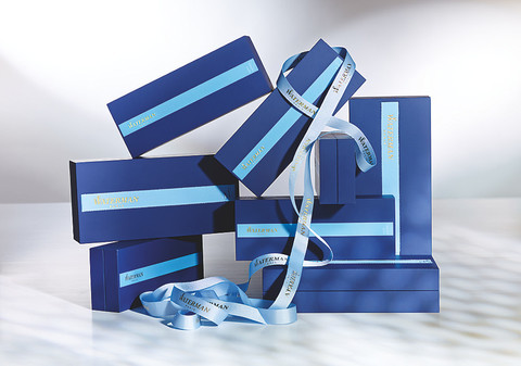 Ручка-роллер Waterman Exception, цвет: Slim Blue ST, стержень: Fblk (TF)123