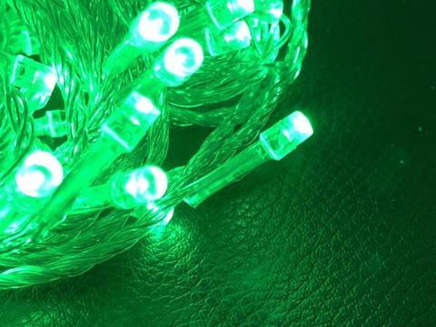 Сітка-гірлянда 160 LED C NET 1.5 на 1.5 м. зелена
