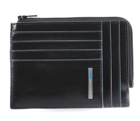 Чехол для кредитных карт Piquadro Blue Square (PU1243B2R/N) черный кожа