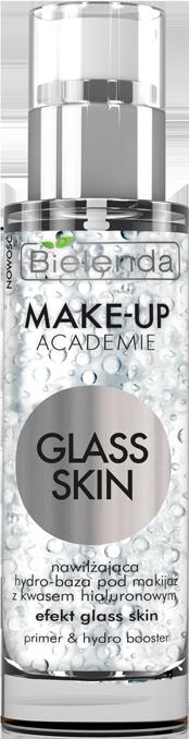 MAKE-UP ACADEMIE GLASS SKIN увлажняющая база под макияж с гиалуроновой кислотой, 30 г