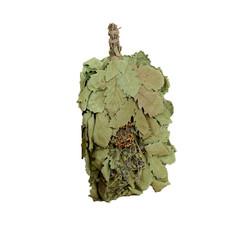 Веник для бани ЭКСТРА из кавказского дуба с букетом из трав 2691845